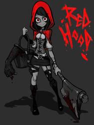 Madness Red Hood by MuHut
