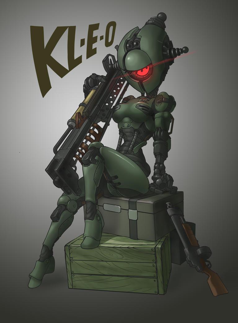 kl-e-o of Fallout 4(Redraw) by MuHut