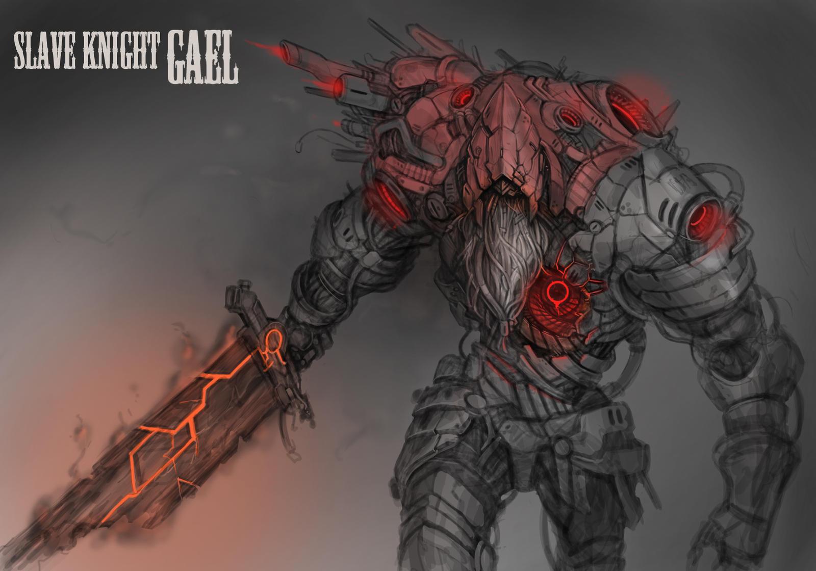 Robot Slave Knight Gael By Muhut On Deviantart