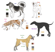 High and Mid Ranked Ordine Adopts! by NineztheMonster