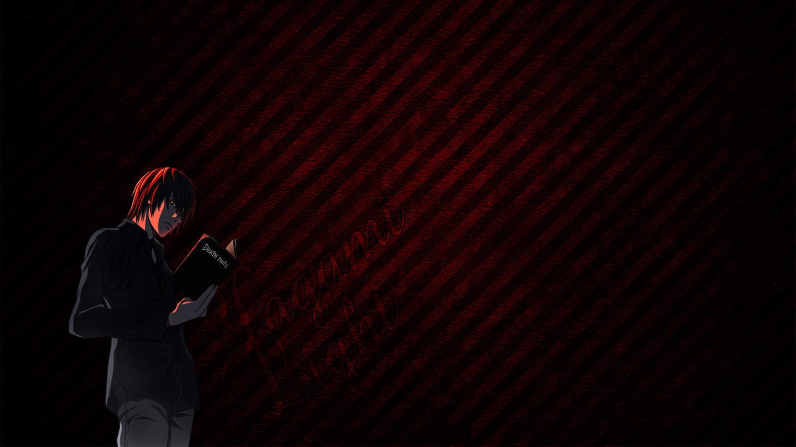 Death Note Yagami Light Wallpaper By Subkulturee On Deviantart