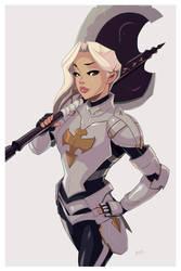 Thora Ironheart by JoethebigItalianguy