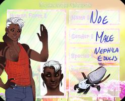 Noe- Golden Orb Weaver by MightBeASpaceBandito