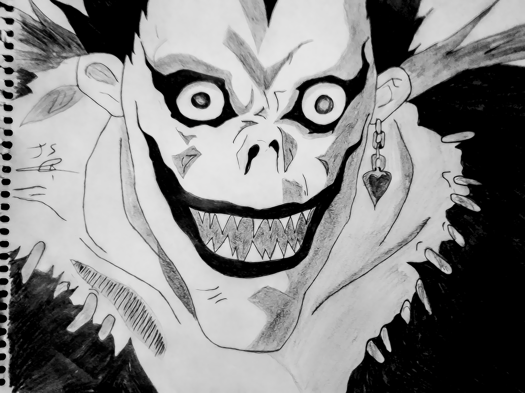ryuk death note by jasmkurdish on DeviantArt