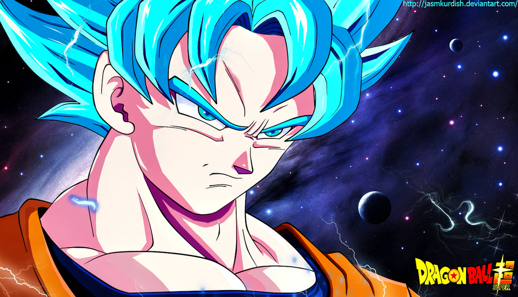 son goku ssj blue by jasmkurdish on deviantart