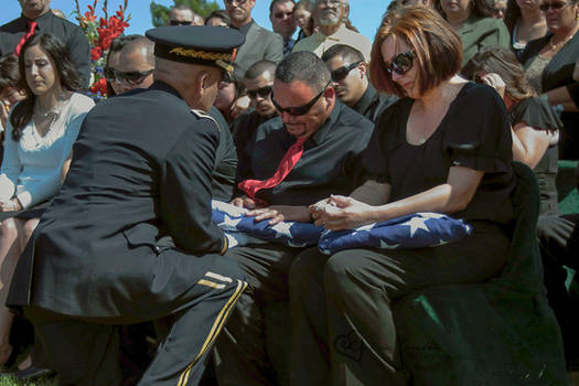 Receiving The Flag