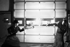 Undertaker versus Zombie by marc17