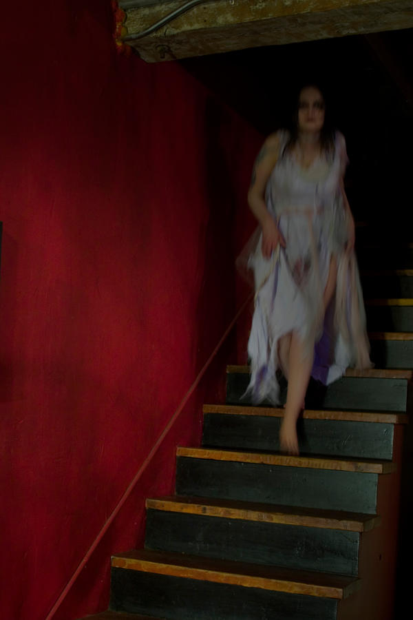 Ghost on Stair