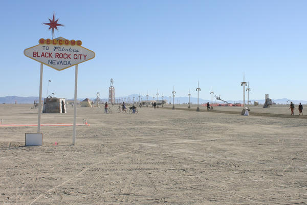 Welcome to Black Rock City by marc17