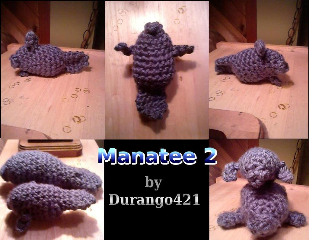 Amigurumi Manatee : Amigurumi Manatee jr by durango421 on DeviantArt