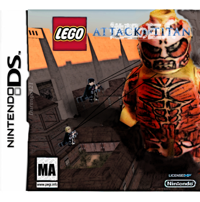 Lego Attack On Titan video game for DS by durango421 on ...