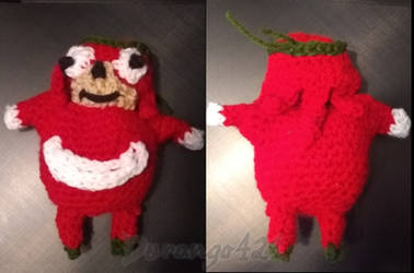 Da Wae Crochet Ugandan Knuckles by durango421