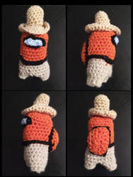2020/09/09 Among Us 'Toastboy' Crochet