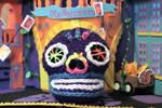 Dia De Los Muertos Skull by durango421