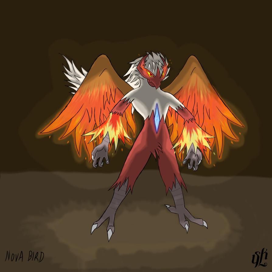 [Fakemon] - Nova Bird - Concept by SachiKanashimi
