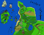 Map of The Known Redwall World