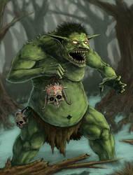 Troll-fin1 by misledtomisery