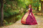 Ball gown's Perlasanguis_in undergrowth by Arts-of-Cendrayliss