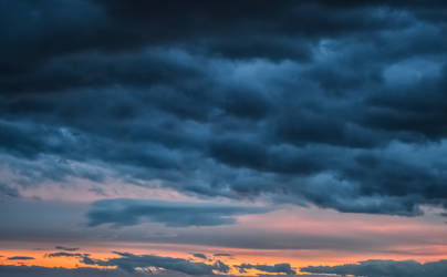 Background stormy sky and twilight by Arts-of-Cendrayliss