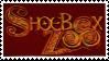 Shoebox Zoo Stamp by Frazero