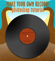 Make a vinyl album photoshop by skipgo