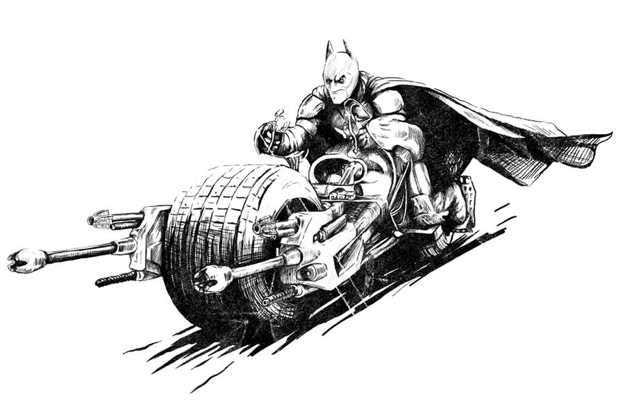 Batpod By Explicandum On DeviantArt