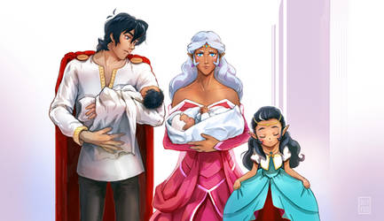 Voltron Commission - Family by OllyYuu