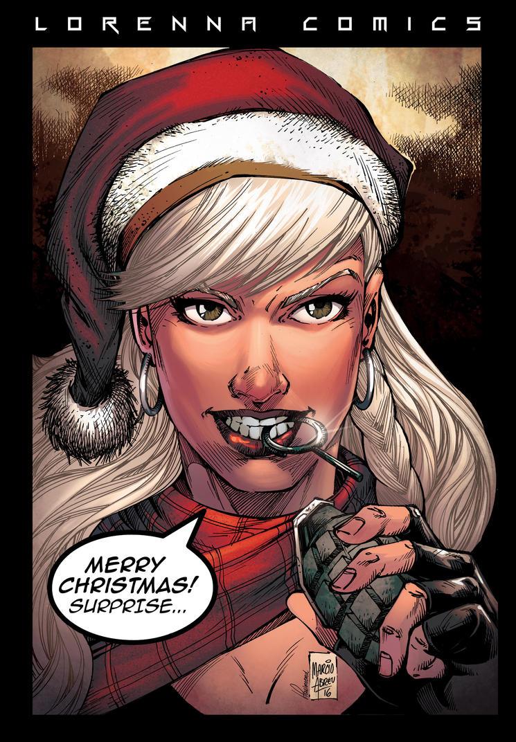 Lorenna Merry Christmas - 2016 by viniciustownsend