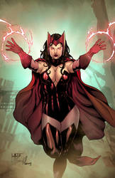 Scarlet Witch by viniciustownsend