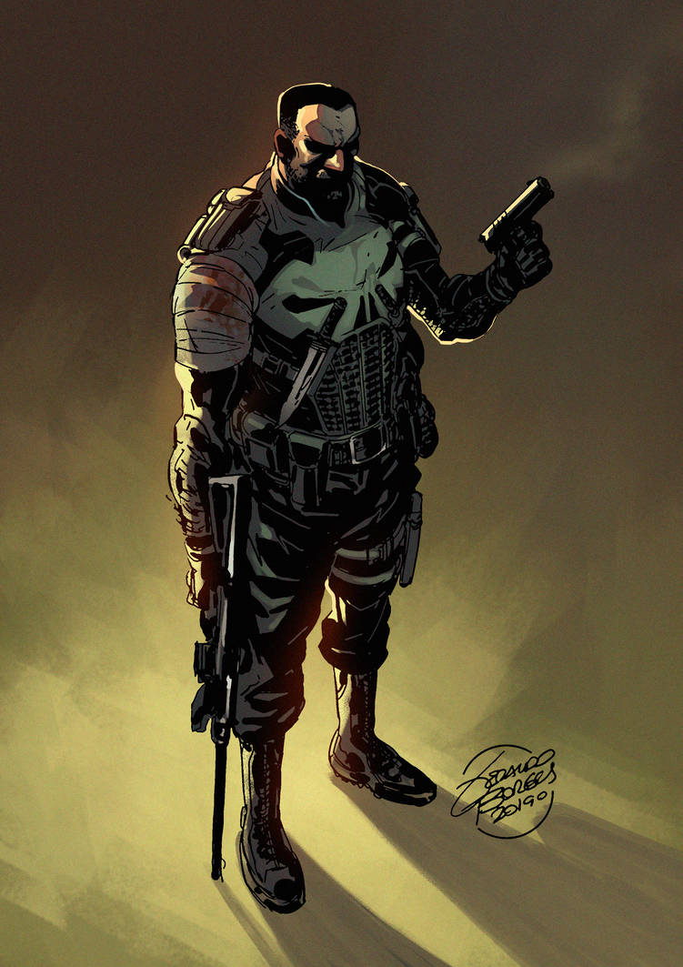 The Punisher by viniciustownsend