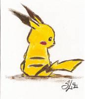 Pikachu by lieusum
