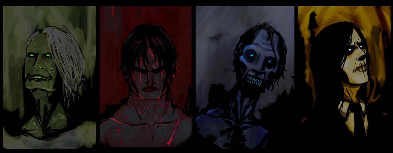 Horsemen Apocalypse Famine By Itslimbo Deviantart – Dibujos Para