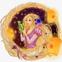 Rapunzel by lieusum