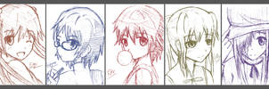 Katawa Shoujo doodle