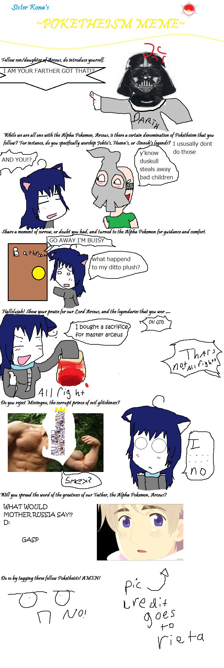 Konata101 arceus meme thingy