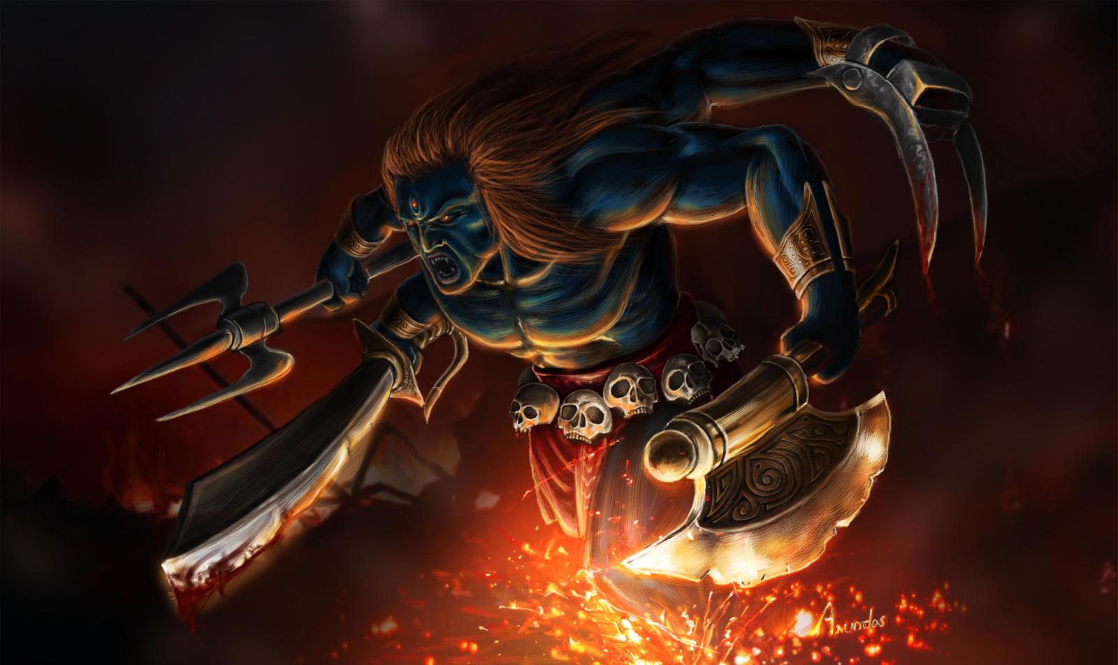 Lord Veerabhadra God