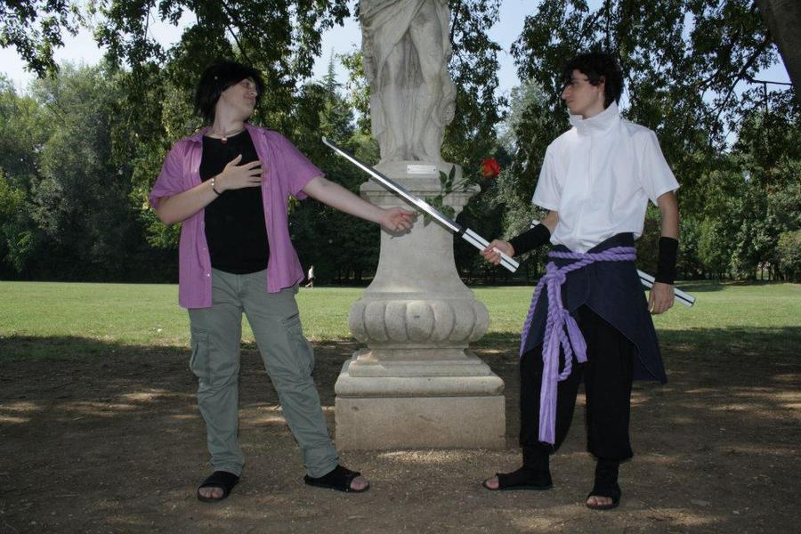 Truzzuke - Showdown with himself! by FontanaBoss