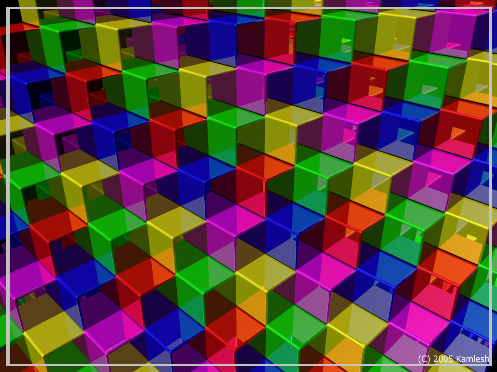 3 dimensional cube template - cube pattern by kamlesh on deviantart
