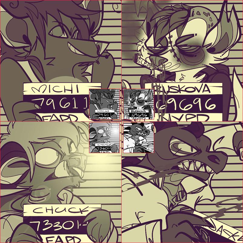 Mugshot Icons- Batch 2 by 22mg