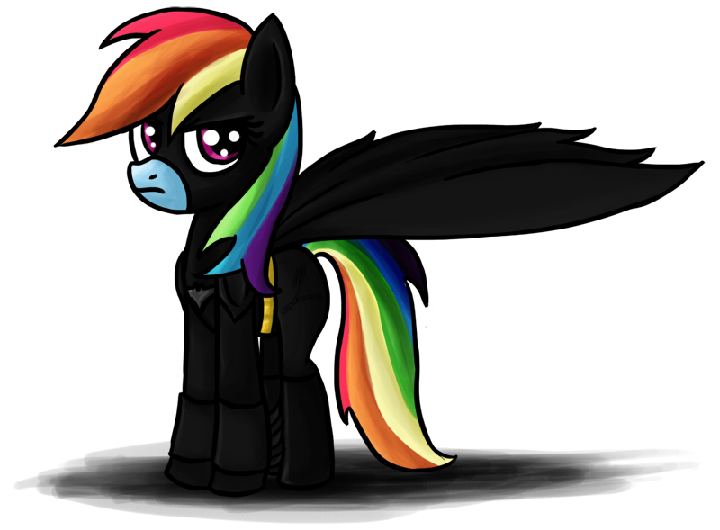 #45602 - batman, rainbow dash, safe, vector - Derpibooru ...  |Batman Rainbow Dash