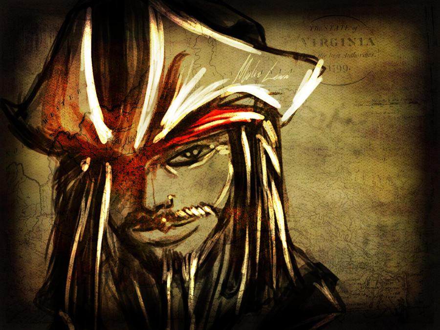 Jack Sparrow Wallpaper by malizlewa