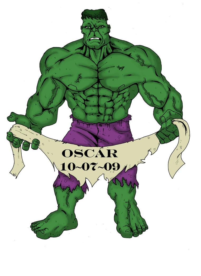 Hulk Tattoo Design. By B Man G Man ...