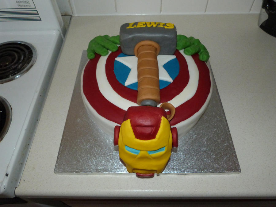 my sons birthday cake by BmanGman on DeviantArt