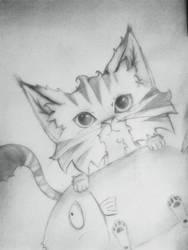 meowww :3 by zaochaimao