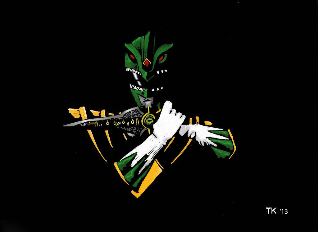 Black Mirror Green Ranger By TKthekid On DeviantArt