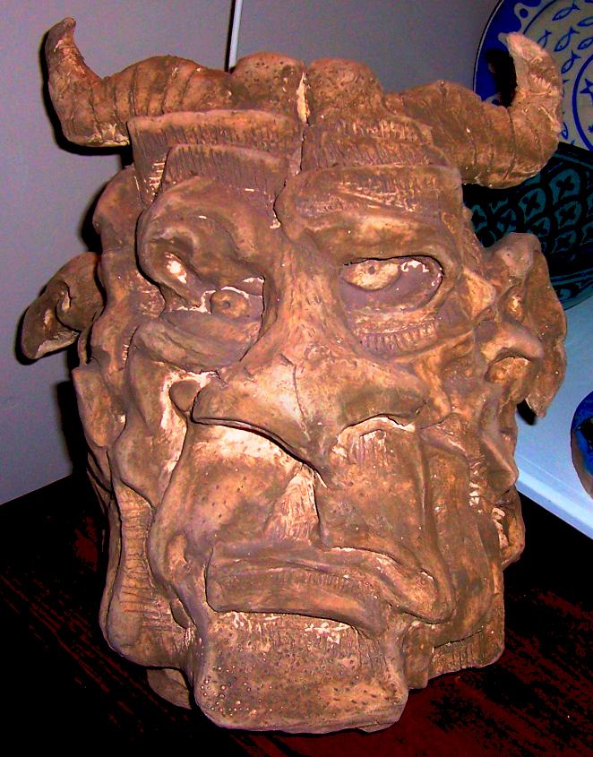 Minotaur Head by JudoLynx on DeviantArt