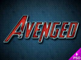 Avenged Text Style by thislooksgreat