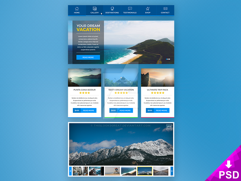 Booking UI Kit by thislooksgreat