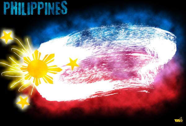 PHILIPPINE FLAG By Parascythe04