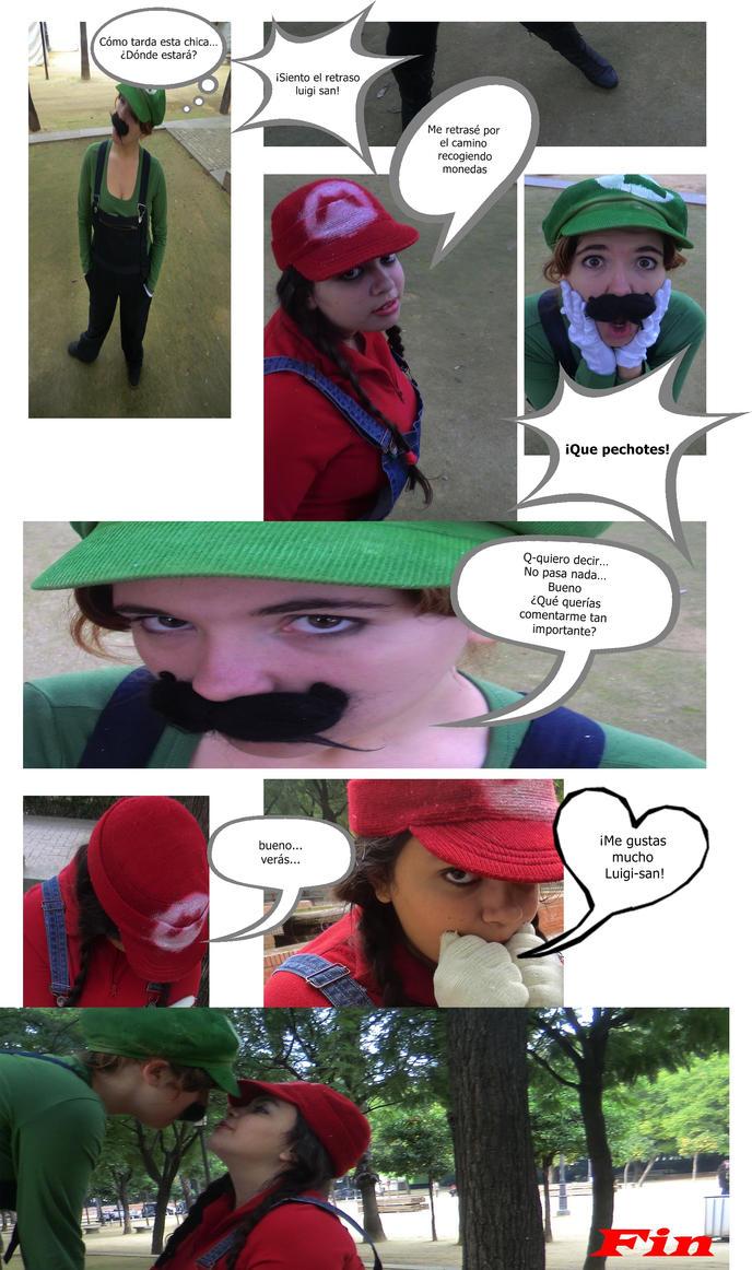 Mario nd luigi love by Jenova5000